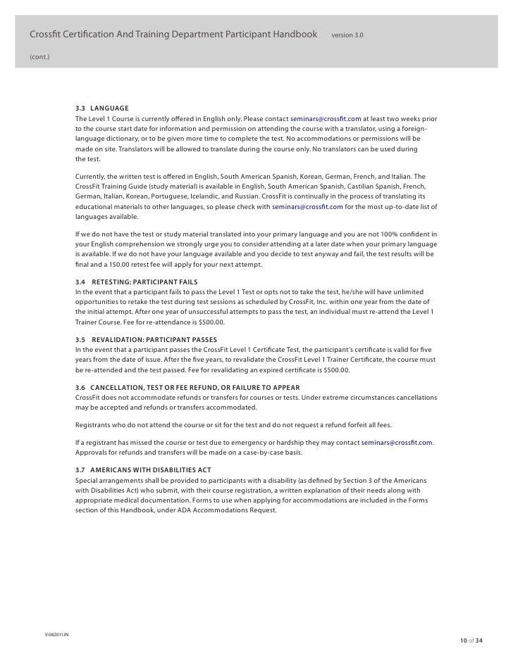 crossfit level 1 study guide - Hizir kaptanband co