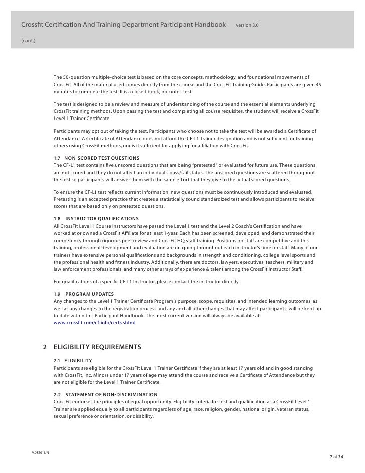crossfit level 1 study guide - Boat.jeremyeaton.co