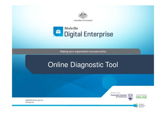 MelvilleOnline Diagnostic Tool                   Brought to you by