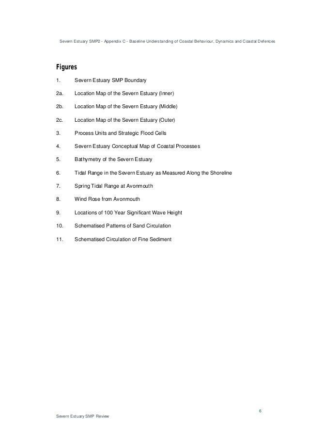 Severn Estuary SMP2 - Appendix C - Baseline Understanding of Coastal Behaviour, Dynamics and Coastal Defences 6 Severn Est...