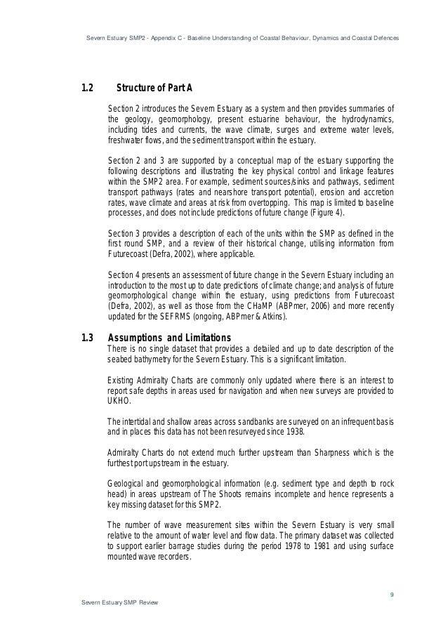 Severn Estuary SMP2 - Appendix C - Baseline Understanding of Coastal Behaviour, Dynamics and Coastal Defences 9 Severn Est...