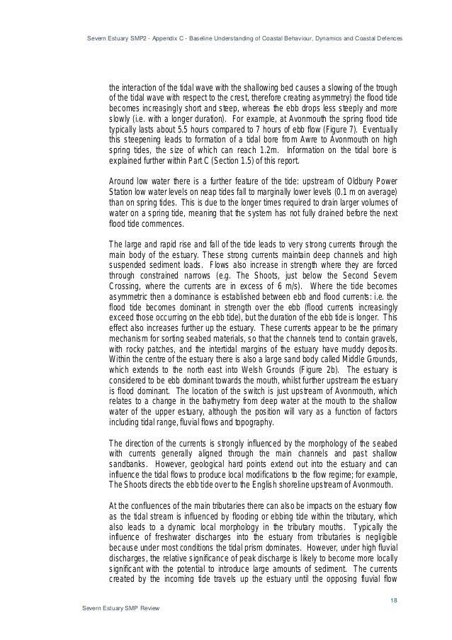 Severn Estuary SMP2 - Appendix C - Baseline Understanding of Coastal Behaviour, Dynamics and Coastal Defences 18 Severn Es...