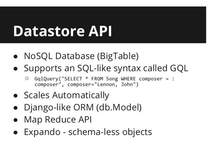 Introduction to App Engine Development