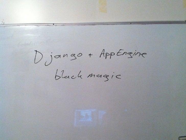 Appengine+django