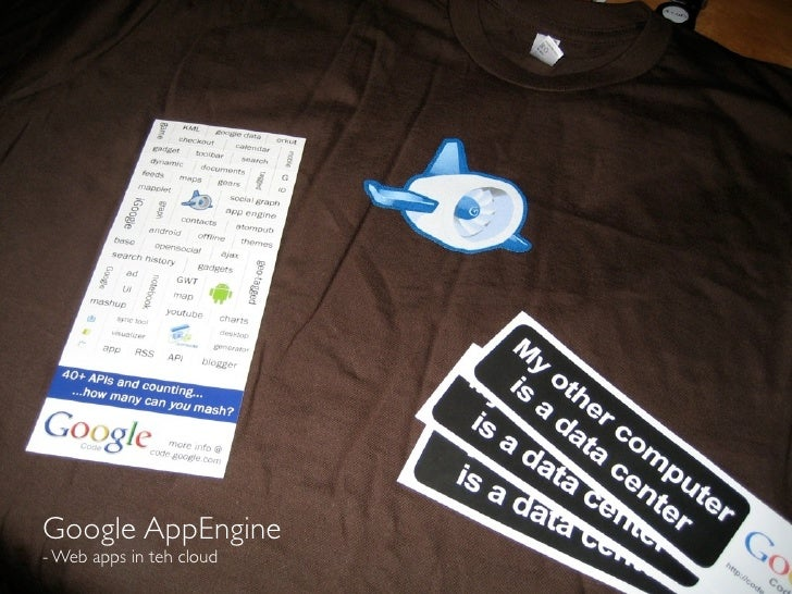 Google AppEngine - Web apps in teh cloud