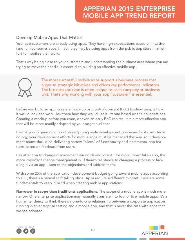 Apperian 2015 enterprise app trends report 10 ccuart Images