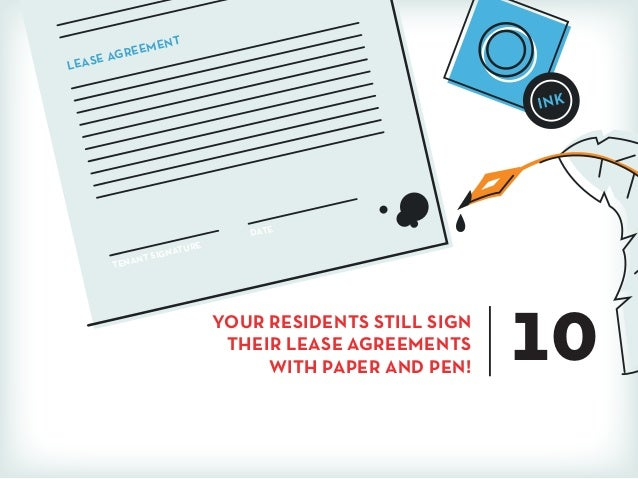 Tenant Signature Lease Agreement Date