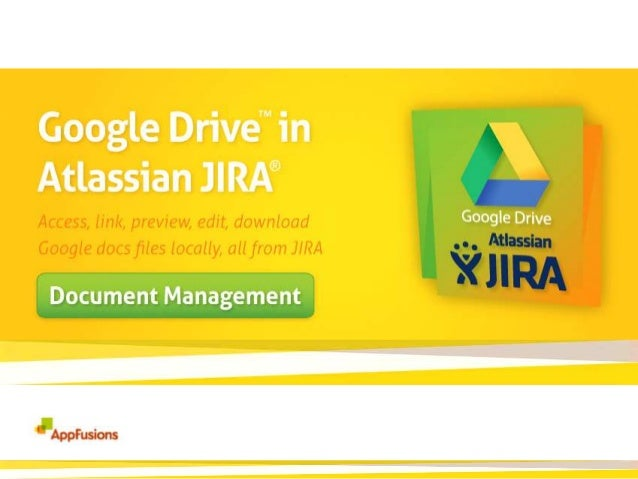 Google Drive in Atlassian JIRA  Supported File types