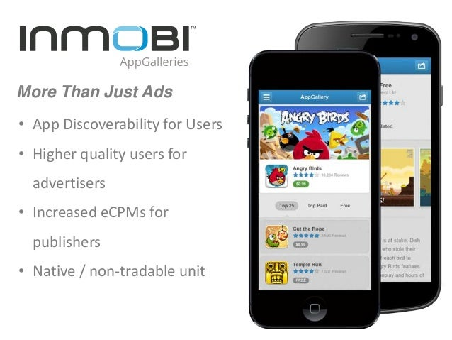 InMobi AppGalleries - Product Walkthrough
