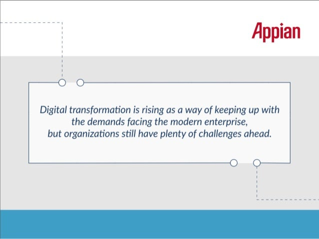 Three Ways App Platforms Help Companies Prepare for Digital Transformation Slide 2