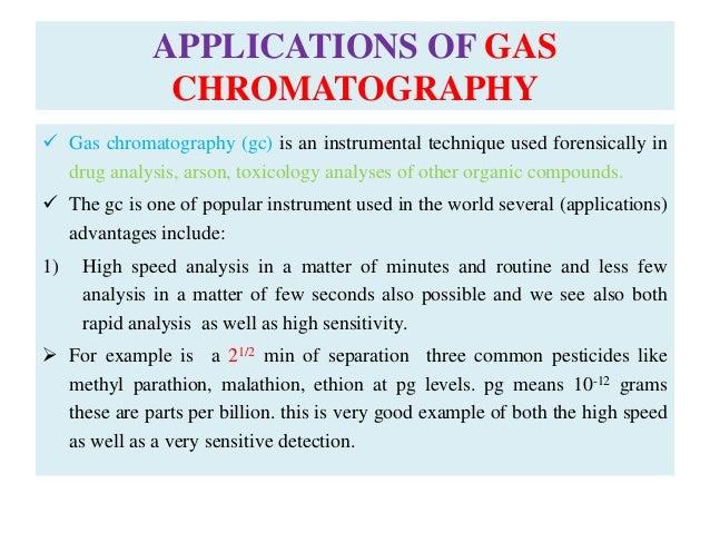 gaseous chromatography