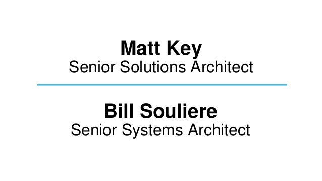 App infrastructure &_integration_keynote_final