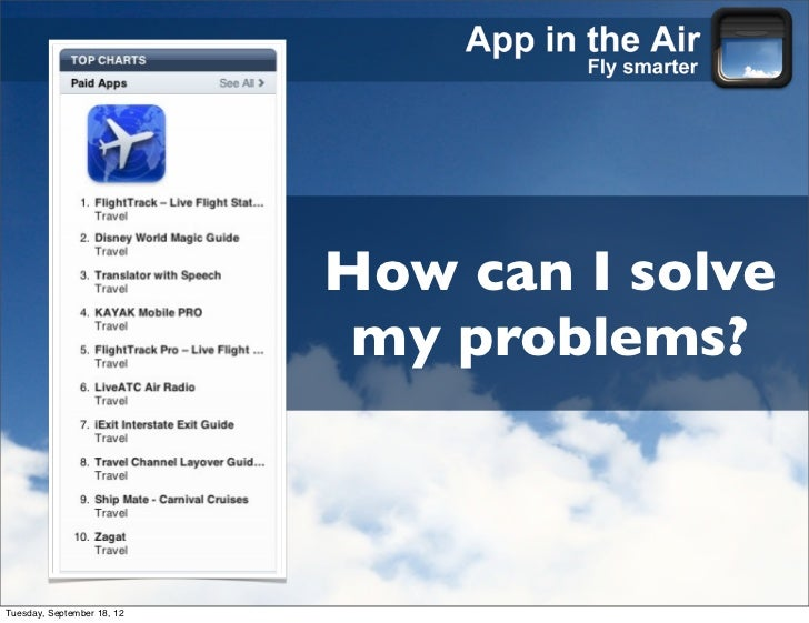 App in the Air - Product Demo (Sep 2012)