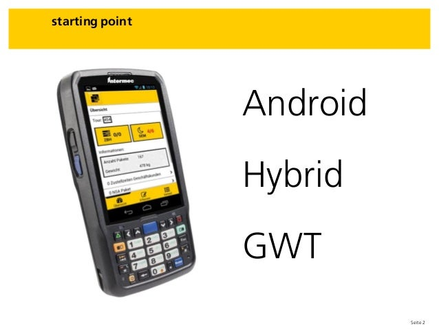 Seite 2 Android Hybrid GWT starting point