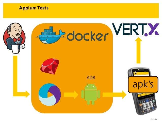 Seite 27 Appium Tests apk's ADB