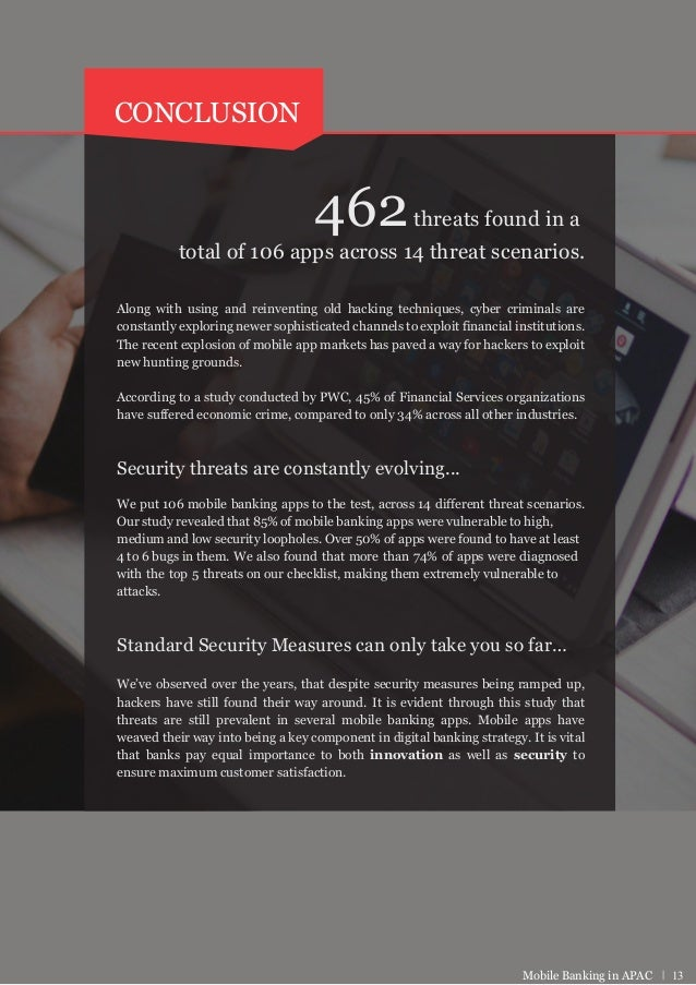 Security Report of Top 100 Mobile Banking Apps - APAC