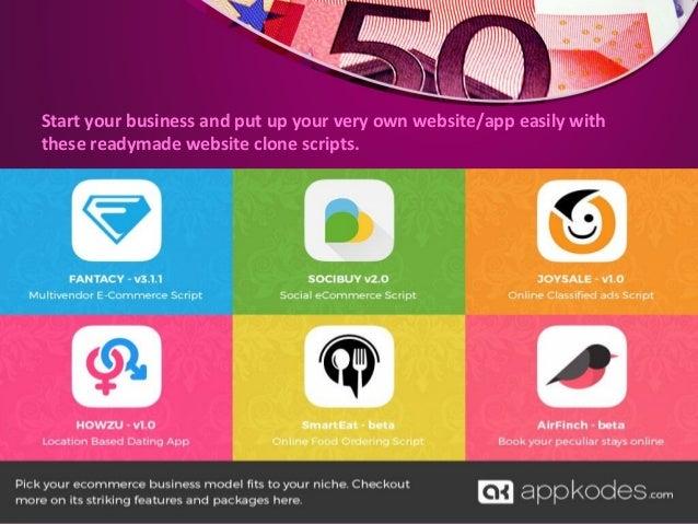 Website PHP Clone Scripts | Mobile App Development - Appkodes