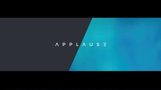 Reviews & Ratings - applause.io © TP 2016