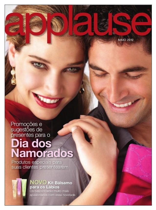 TMTM MAIO 2012 Promoções e sugestões de presentes para opresentes para o Dia dos Namorados Produtos especiais para suas cl...