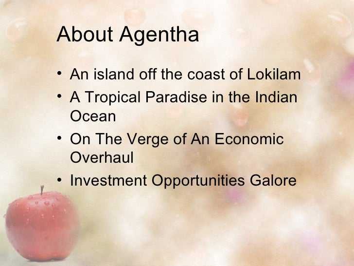 Apple PowerPoint Presentation Template 1 The County Of Agentha Presents 2