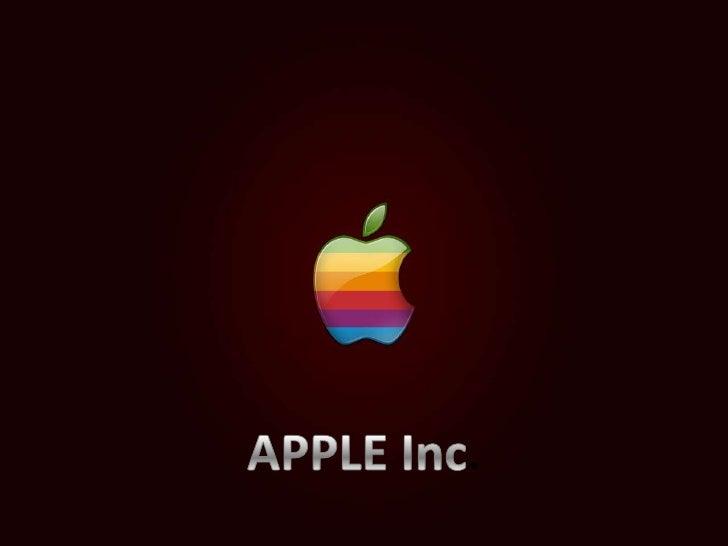 APPLE Inc.<br />