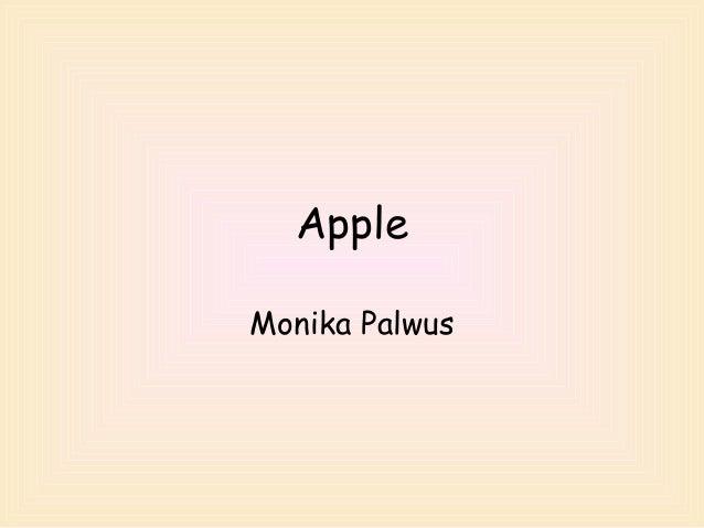 Apple Monika Palwus