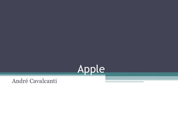 AppleAndré Cavalcanti