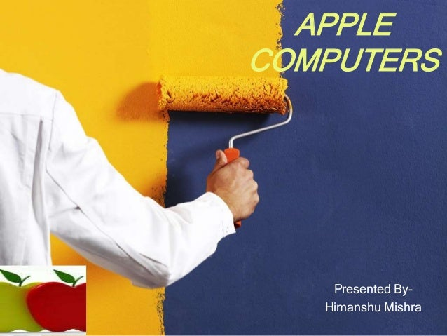 APPLECOMPUTERS    Presented By-   Himanshu Mishra