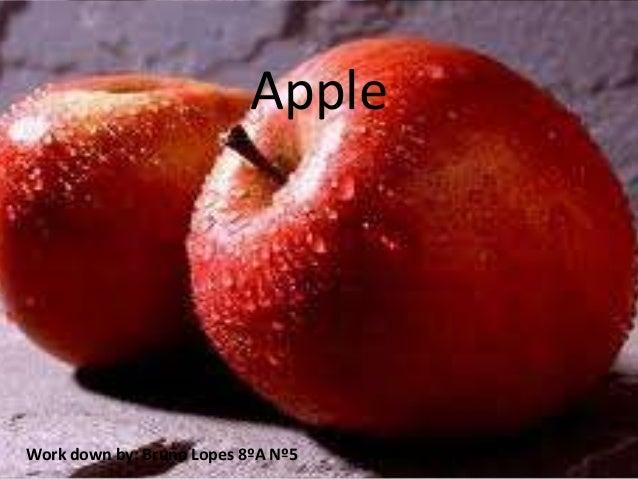 AppleWork down by: Bruno Lopes 8ºA Nº5