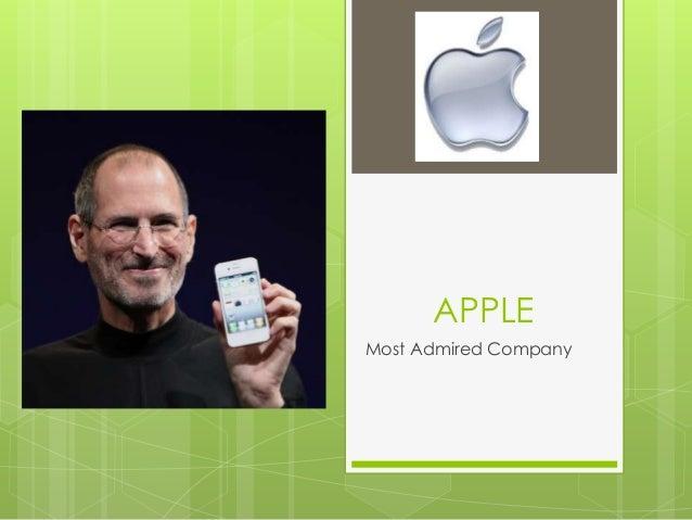 APPLEMost Admired Company
