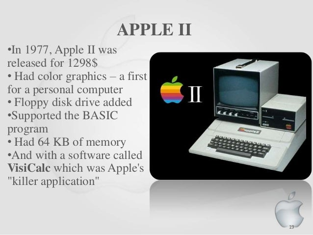 history of apple computer History of apple computer, inc apple computer, inc designs, manufactures, and markets personal computers, software, networking solutions, and peripherals, including a line of portable digital music players apple's product family includes the macintosh line of desktop and notebook computers, the ipod digital music player, the mac os x.