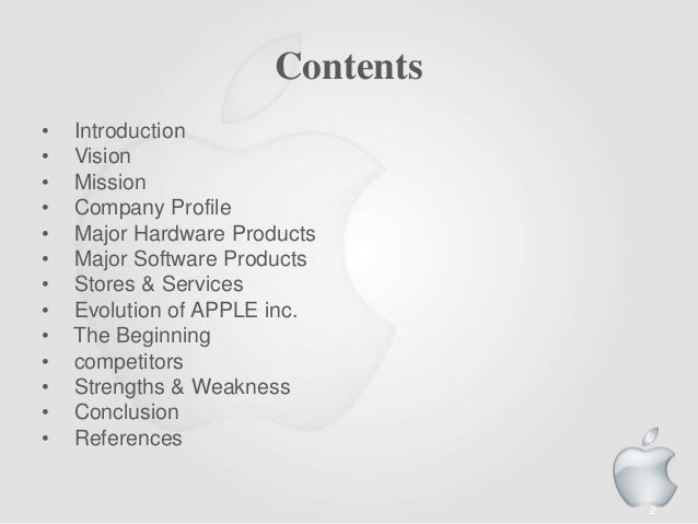 conclusion to apple company Good and poor examples of conclusion sections  improvements in every area of the company are needed if the company is, in the first instance,.
