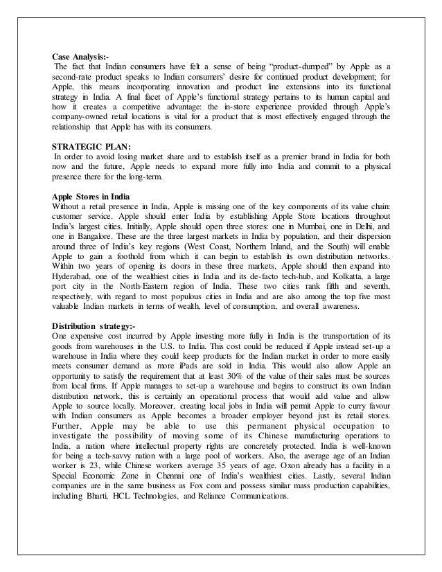 Apple Case Study Presentation - FIU Management Strategy ...