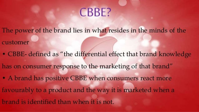 cbbe pyramid of apple The consumer based brand equity effect of innovative sponsorship master thesis by: nina birkeland  (cbbe) effects sponsorship can contribute with, when optimizing.