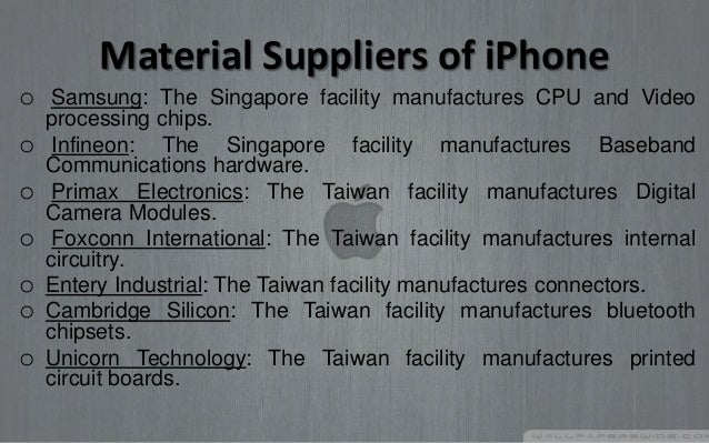 iPhone: Who's the real manufacturer? (It isn't Apple)