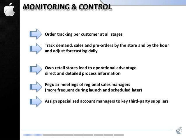 MONITORING & CONTROL Order tracking per customer at all stages Track demand, sales and pre-orders by the store and by the ...