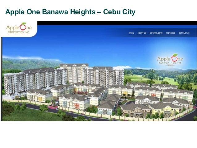Apple One Banawa Heights – Cebu City