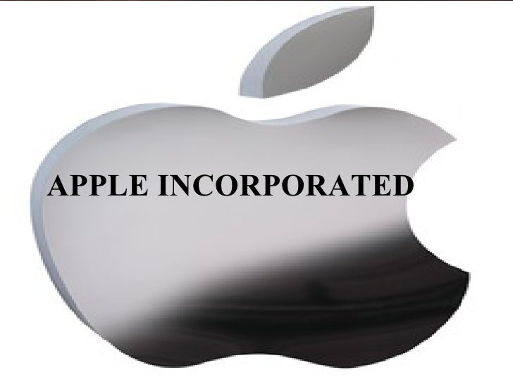 APPLE INCORPORATED