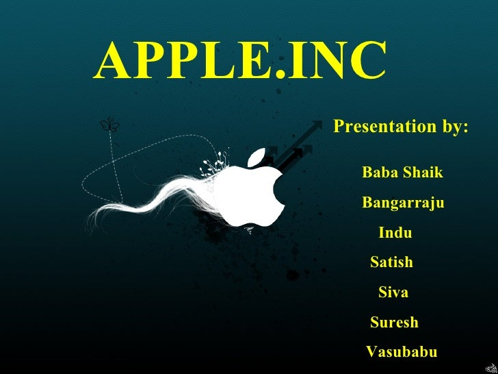 Apple ppt by 9133078687