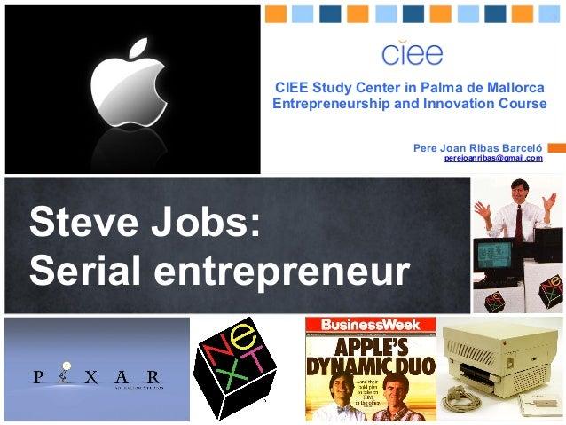CIEE Study Center In Palma De Mallorca Entrepreneurship And Innovation  Course Pere Joan Ribas Jobs: ...