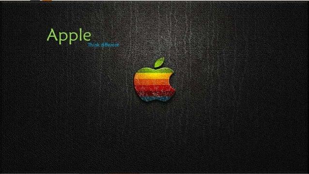 AppleThink different