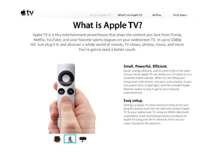 Apple TV(Apple TV 3rd Generation)