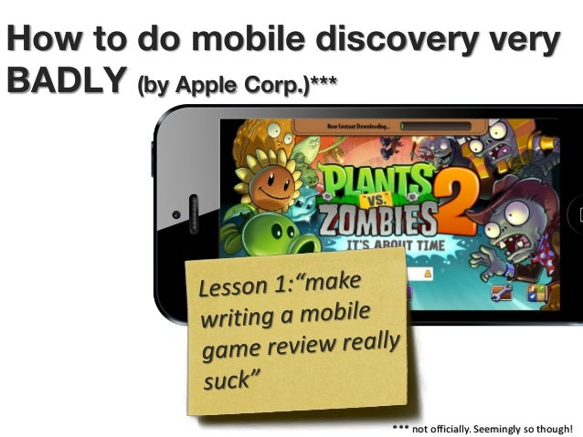 How to do mobile discovery very BADLY (by Apple Corp.)***  *** not officially. Seemingly so though!