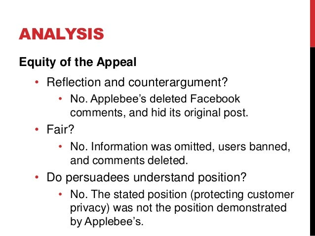 tares test: five principles for ethical persuasions essay A kickass ethics study guide - potter box, prima facie, tares, boks model,  aristotles  the tares test is an ethical advertising tool which determines if the  ad.