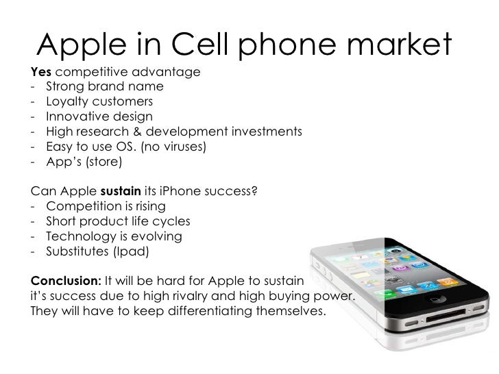 apple competitive advantage Apple inc is an american origin multinational company that designs, develops,  and sells  supply chain to secure its competitive advantage.