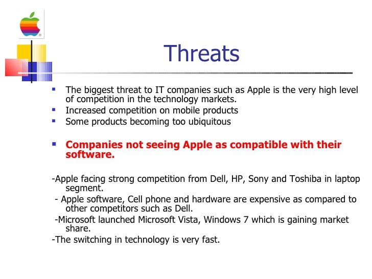 a swot analysis of the company apple Apple inc: a short swot analysis  this was notably evident when the company launched its first iphone (june, 2007) and ipad (april, 2010) mobile internet devices.