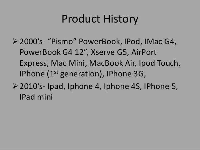 Apple company slide show..