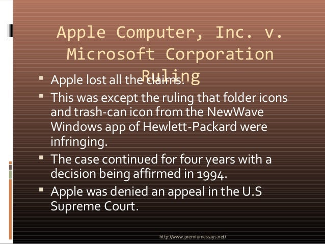 apple inc or apple computer inc Apple inc is a major manufacturer of computers and operating systems, co-founded by steve wozniak and steve jobs mentions when the company was known as apple computer inc, it produced a commercial for one of the first imac desktops in 1998, and used kermit the frog's recording of &quotbein.