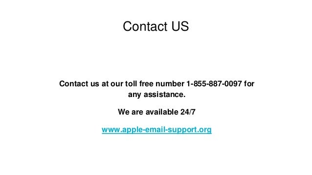 apple email support