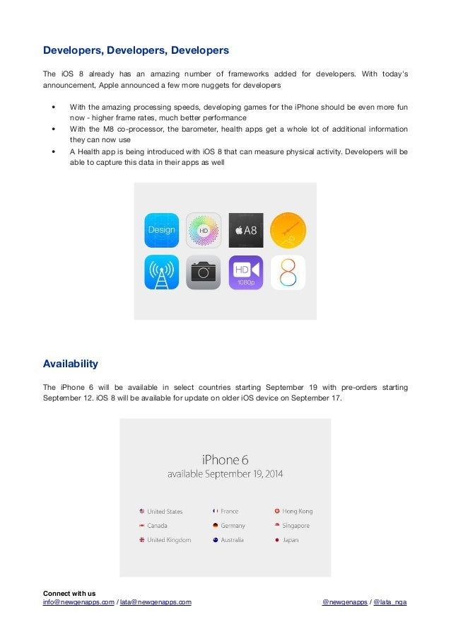 Apple announces iPhone 6, iPhone 6 Plus, iWatch and much more Slide 2